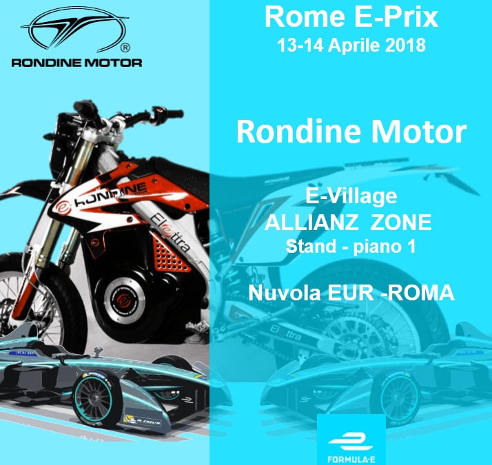 Rondine Motor all' ALLIANZ  E-Village – Formula E – E Prix